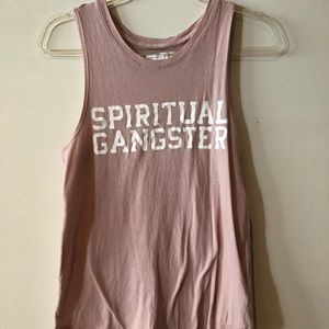 Spiritual gangster muscle tank